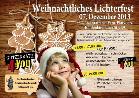 Flyer-Lichterfest